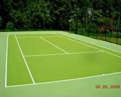 Teniso žaidimo aikštelė Balnininkuose