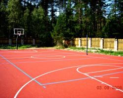 Krepšinio aikštelė Trakų rajone