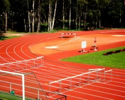 Lengvosios atletikos stadionas, Valmera Latvija