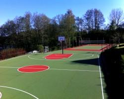 Universali sporto aikštelė privačioje valdoje