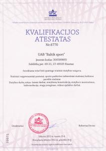 baltiksport atestatas